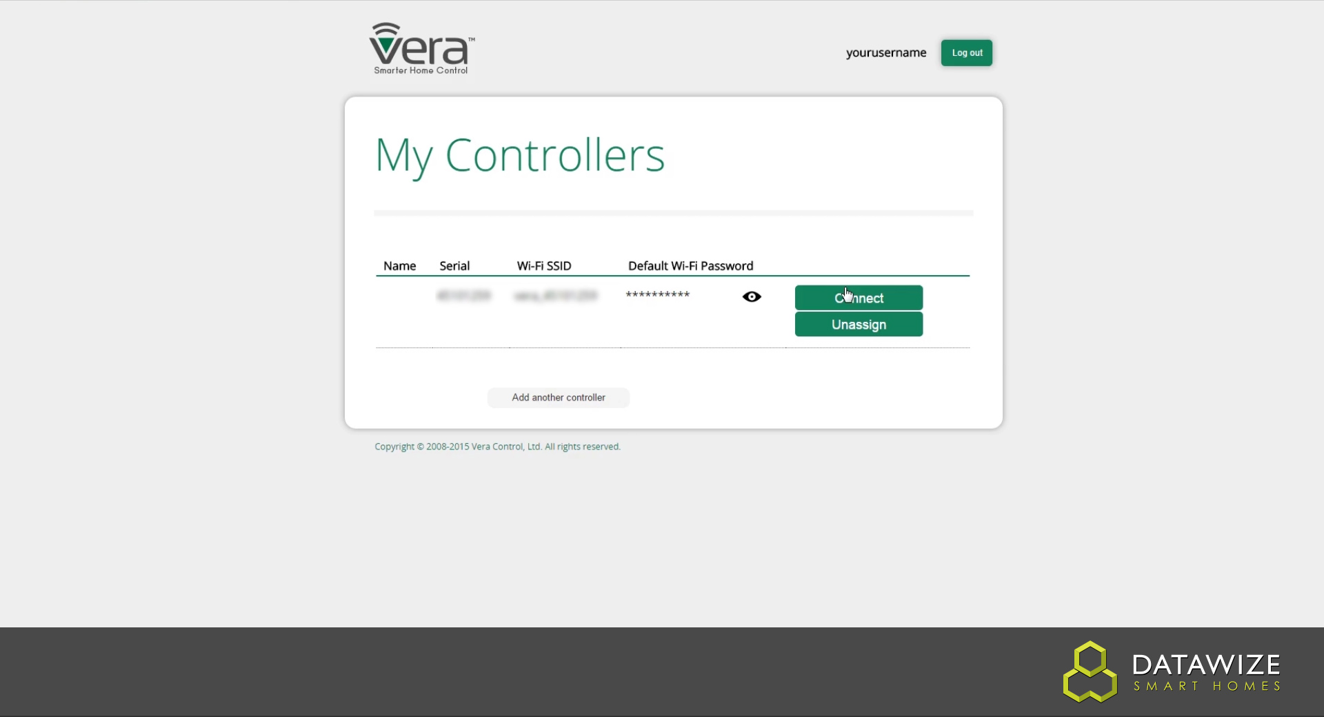 How to Setup a VeraEdge - My controllers